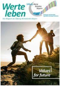 """Aktuelles Magazin """"Werte leben"""" lesen."""